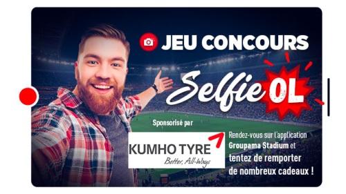 jeu Selfie OL-Rennes