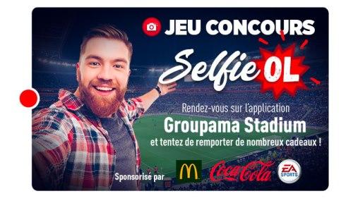 jeu Selfie OL-Caen