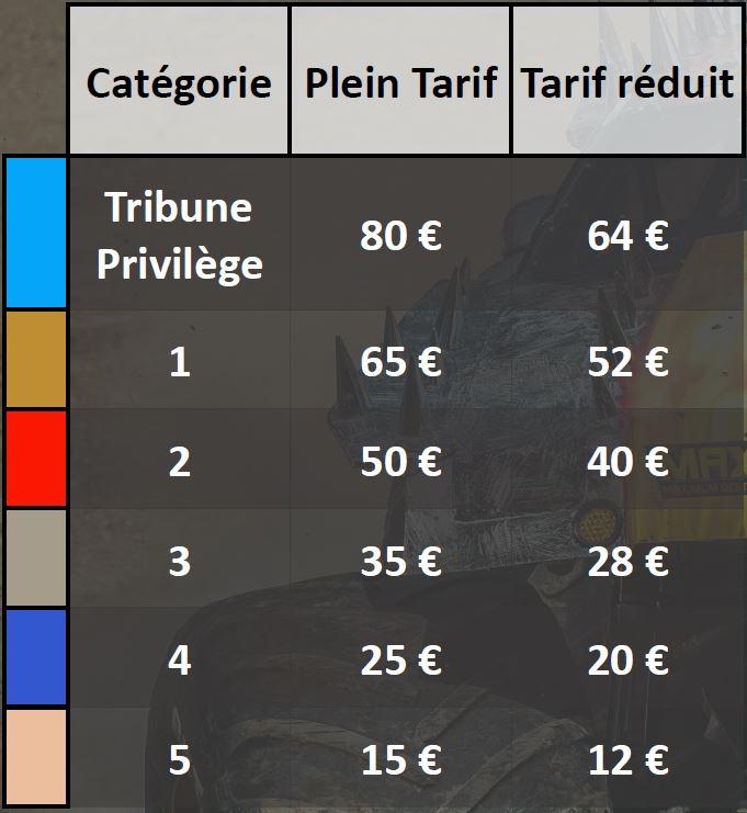 Tarifs Montser Jam à Lyon 2018