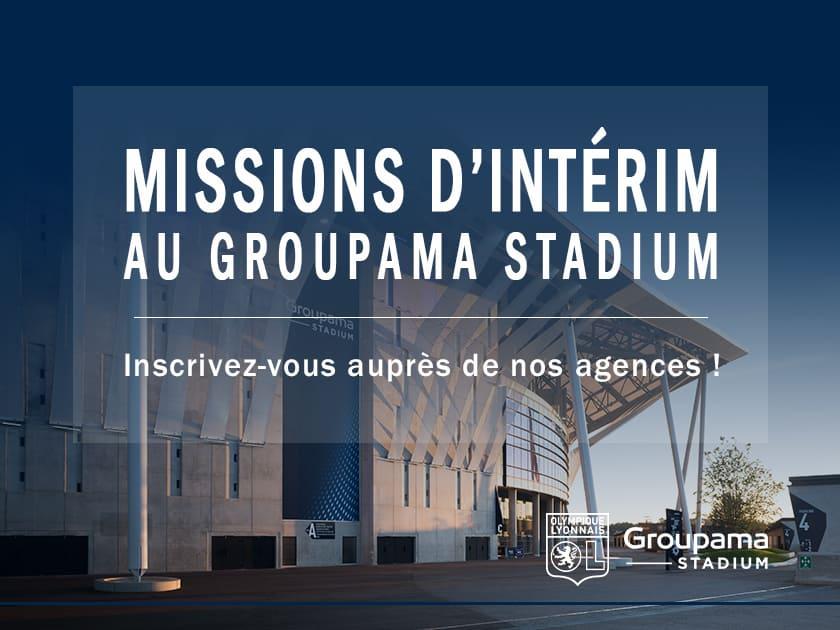 Groupama Stadium Offres D Emploi En Interim Avec Nos Deux Agences