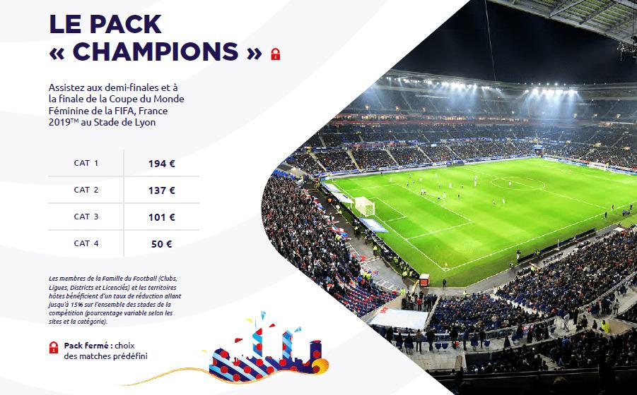 Mondial Feminin France 2019 Calendrier.Coupe Du Monde Feminine France 2019 Billetterie En