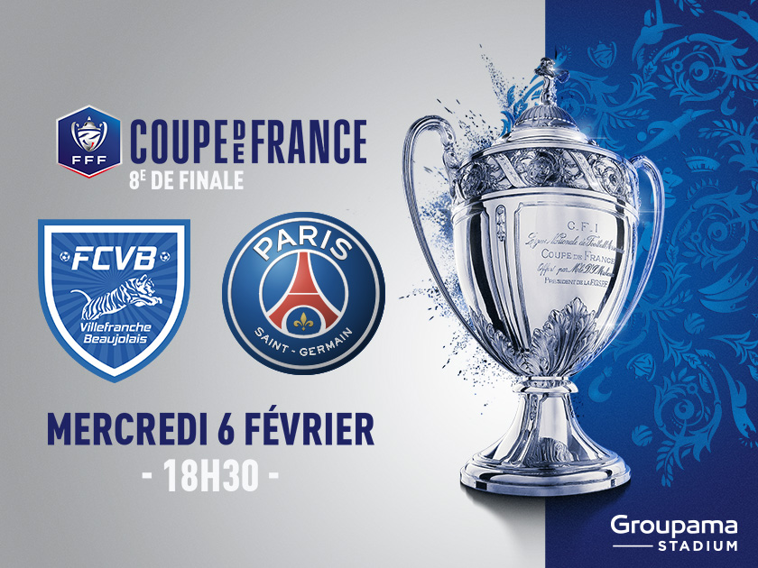 Billetterie fc villefranche beaujolais psg coupe de - Places finale coupe de france ...