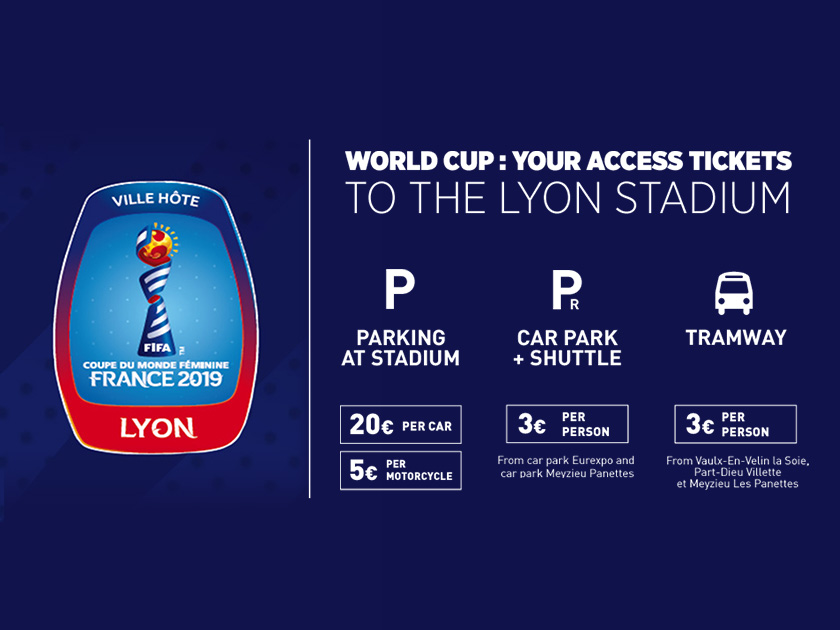 Calendrier Vip 2019.World Cup Your Access Tickets To The Lyon Stadium For The
