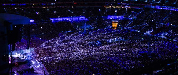 Groupama Stadium stade Lyon OL 5 ans concert Ed Sheeran