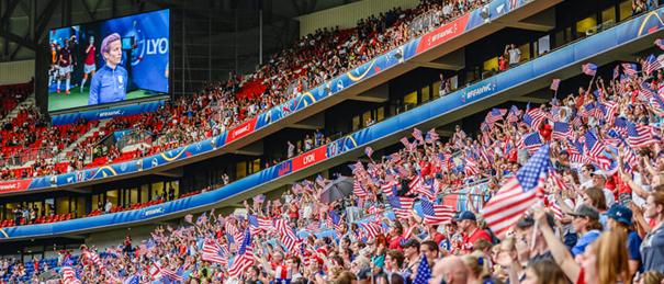 Groupama Stadium stade Lyon OL 5 ans Coupe Monde Féminine 2019 finale